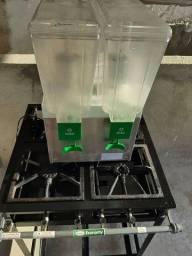 Refresqueira IBBL 30L 2 depositos inox 220v BBS2