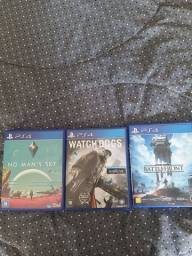 3 jogos de Ps4