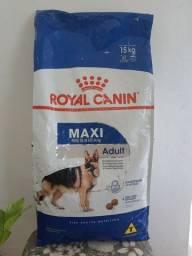 Ração Super Premium Royal Canin Max adulto/filhote 15kg.
