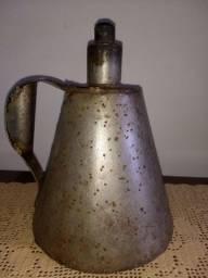 grande lamparina de mão antiga de latão 27 cm