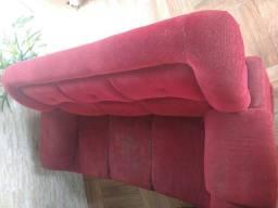 Vendo jogo de sofá usado de 2 e 3 lugares