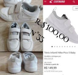 Tênis Nike infantil pico 5 n°33