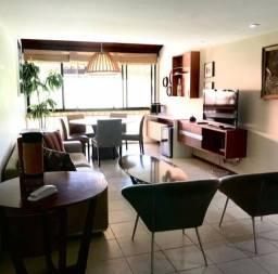 1465- Lindo flat duplex 4 suites mobiliado Asa Branca  em Gravata