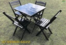 Mesa cadeira entrego