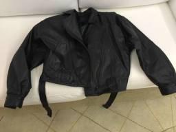 Jaqueta ou Casaco de couro feminino