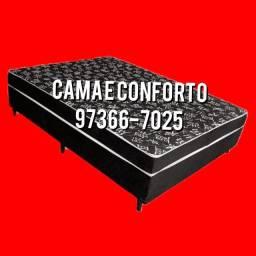 Título do anúncio: CAMA BOX CASAL / BASE BOX CASAL, ENTREGA GRÁTIS......