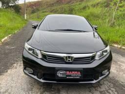 Honda cívic 2013 lxl completo 1.8 flex carro impecável