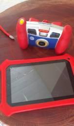 Meu Primeiro Gradiente - Tablet (tela quebrada) + Câmera Digital