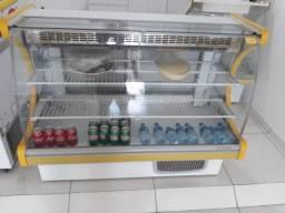 Freezer expositor semi novo