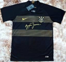 Camiseta Corinthians Senna comemorativa