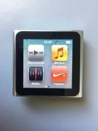 Ipod nano 6 geração - 16gb - prata