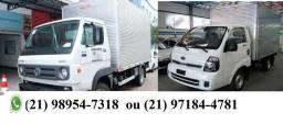 Frete mudanças caminhão baú pequeno e grande_989547318