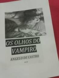 Livro Os Olhos Do Vampiro autor Angelo De Castro