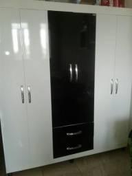 Urgente guarda roupa de 6 portas e 2 gavetas