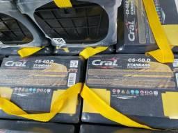 Bateria Cral 60ah De R$220 por R$189.99