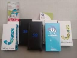 Samsung S8 (2300) J7 pro (1060) J2 prime (520) Cartão de memória (60) cabo type C