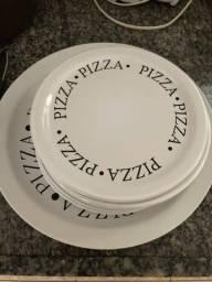 Pratos para pizza