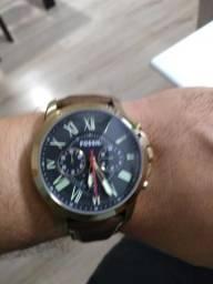 Relógio Fossil pulseirs de couro