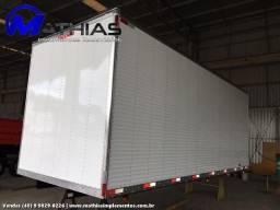 Furgão de caminhão fachinni novo a pronta entrega Mathias implementos