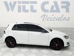Volkswagen Golf Highline 1.4 TSI 2015 Branco Automático Teto Solar - 2015