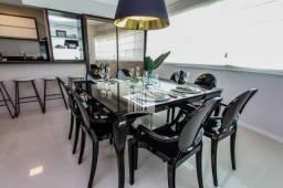 Apartamento com 03 Suítes Mobiliado e Decorado com 02 Vagas e Lazer Completo Balneário Cam