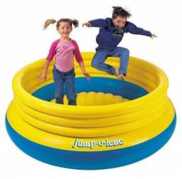 Pula pula master inflável jump on lene