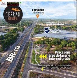 Loteamento Terras Horizonte construção liberada com parcelas de R$ 169,70