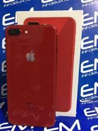 Oportunidade 8 Plus 64GB Red - Seminovo - Somos Loja Fisica Niterói e Centro do Rio