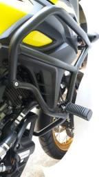 Protetor motor Vstrom 650 para moto Suzuki