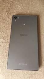 Celular Sony z5 Plus com  leitor biométrico