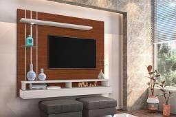 Painel Suspenso Para tv de até 55 polegadas com luz de led 100%MDP