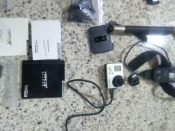 GoPro hero 3 com acessórios