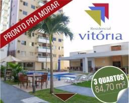 Apartamento na Pedreira, 3 quartos, Edifício Residencial Vitória com 84m²