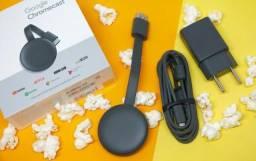 Chromecast 3 original Google lacrado a pronta entrega