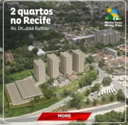 M Em Tejipio Apartamento com 2 quartos /Varanda /Lazer completo/Escritura Grátis