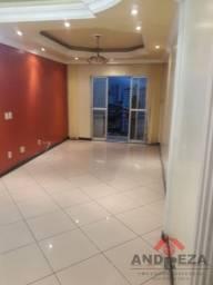 Ed. Dhahran, 3 quartos sendo 1 suíte com armários embutidos andar alto - Pedreira