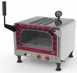 Mini forno de lastro para pizza (Djamily Capital)