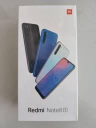 Maravilhoso// Redmi Note 8T da Xiaomi // Lacrado // Garantia e entrega