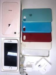 iPhone 8 rose original completo 85 % bateria