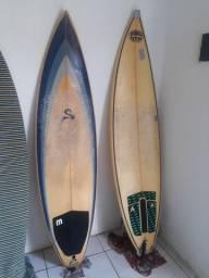 Pranchas - 6'4 e 6'1