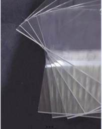 Chapa Acrilico Transparente 20x20 Cm 2 Mm