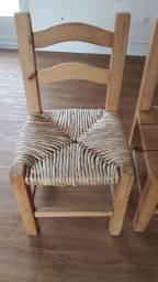 Cadeira colonial infamtil