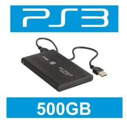 Hd Externa PS3 500GB