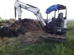 Mini escavadeira Bobcet e 26