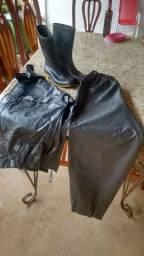 Capa de chuvas alba $110,00