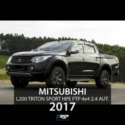 L200 Triton Sport HPE 4x4 2.4 Diesel CD Aut. | Pacote FTP | 2017