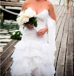 Vestido de noiva tamanho p estilo espanhola