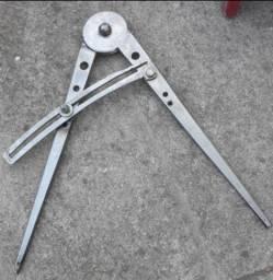 Compasso 40 centímetros de INOX para traçados de metalurgia