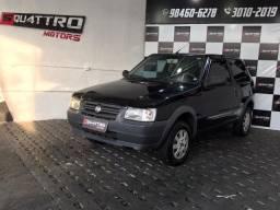 Fiat Uno Mille C/ Direção Hidráulica Financio 100%