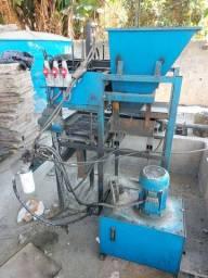Maquina hidraulica de paver e bloco